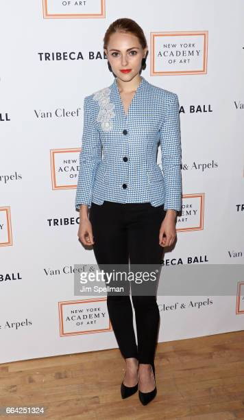 Actress AnnaSophia Robb attends the 2017 TriBeCa Ball at The New York Academy of Art on April 3 2017 in New York City