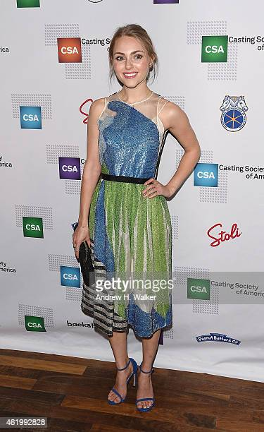 Actress AnnaSophia Robb attends the 30th Annual Artios Awards at 42West on January 22 2015 in New York City