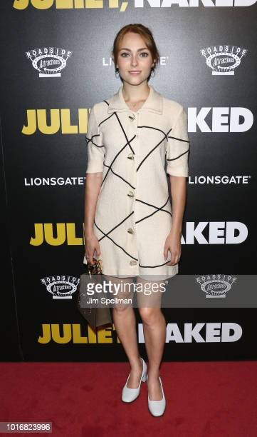 Actress AnnaSophia Robb attends the Juliet Naked New York premiere at Metrograph on August 14 2018 in New York City