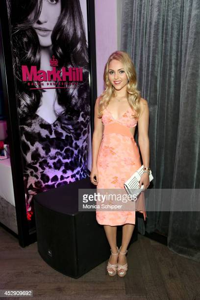 Actress AnnaSophia Robb attends the Mark Hill Salon Professional One Year Anniversary Celebration on July 29 2014 in New York City