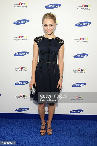 Actress AnnaSophia Robb attends the Samsung Hope For Children Gala 2014 on June 10 2014 in New York City
