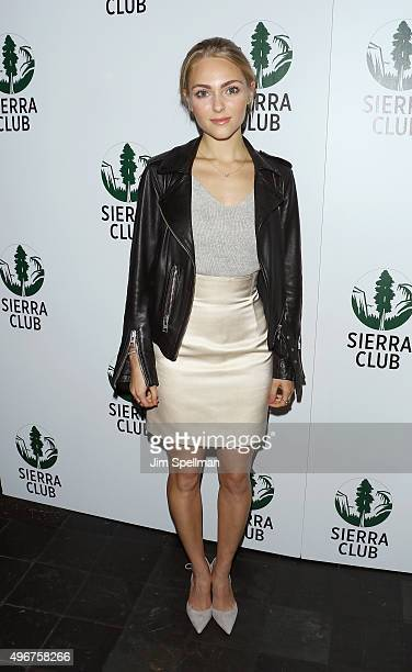 Actress AnnaSophia Robb attends the Sierra Club's Act In Paris a night of comedy and climate action at Heath at the McKittrick Hotel on November 11...