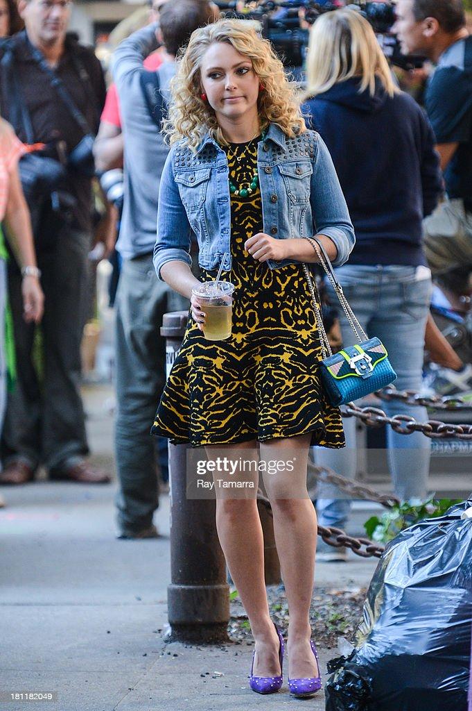 Celebrity Sightings In New York City - September 19, 2013 : News Photo