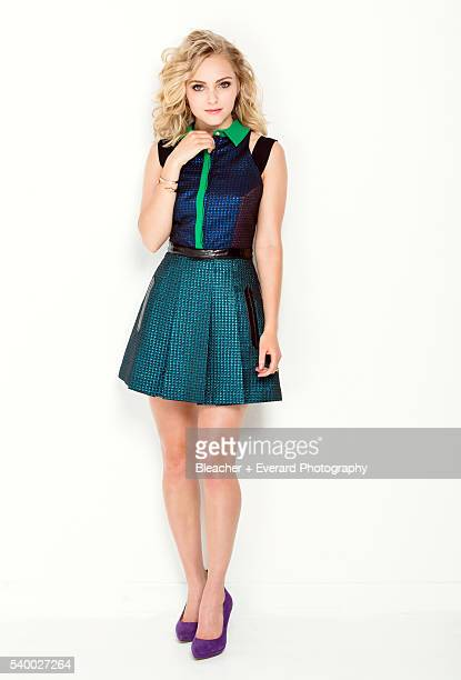 Actress AnnaSophia Robb is photographed for Dolly Magazine on April 25 2013 in New York City Styling Sophia BanksColoma MakeUp Sonia Lee Hair John...