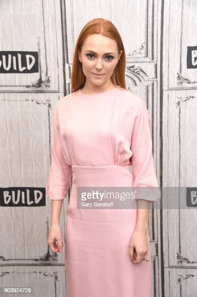 Actress AnnaSophia Robb visits Build Series to discuss the film 'Freak Show' at Build Studio on January 11 2018 in New York City