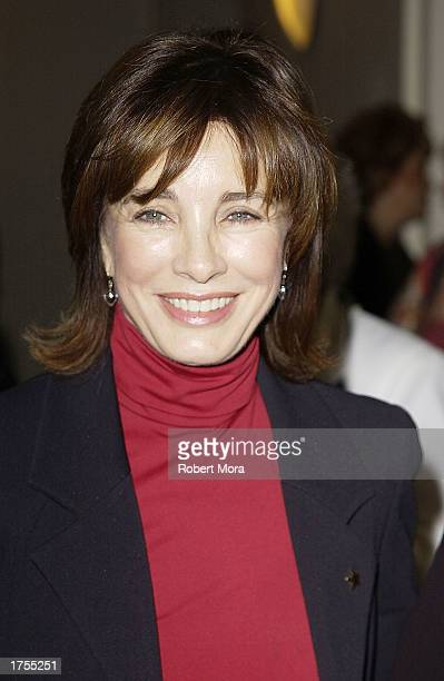 Actress Anne Archer attends the 17th Annual Hollywood Arts Council Awards Luncheon at the Roosevelt Hotel on January 31 2003 in Hollywood California...