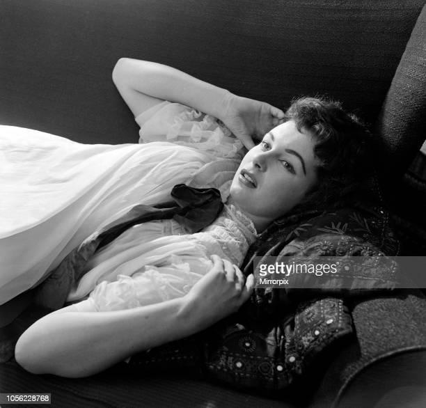 Actress Anne Aubrey 30th March 1957
