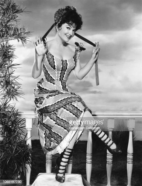 Actress Anne Baxter in a scene from the movie'Cimarron'