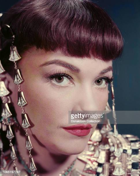 Actress Anne Baxter in a scene from the movieThe Ten Commandments
