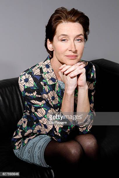 Actress Anne Brochet Photographed in PARIS