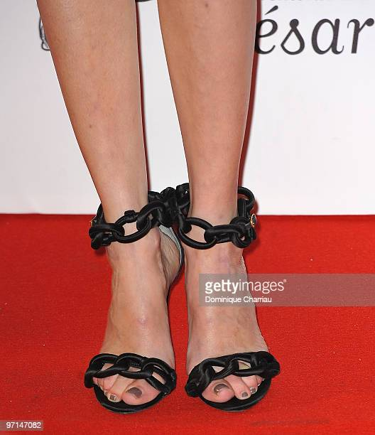 Actress Anne Consigny attends the 35th Cesar Film Awards at Theatre du Chatelet on February 27 2010 in Paris France