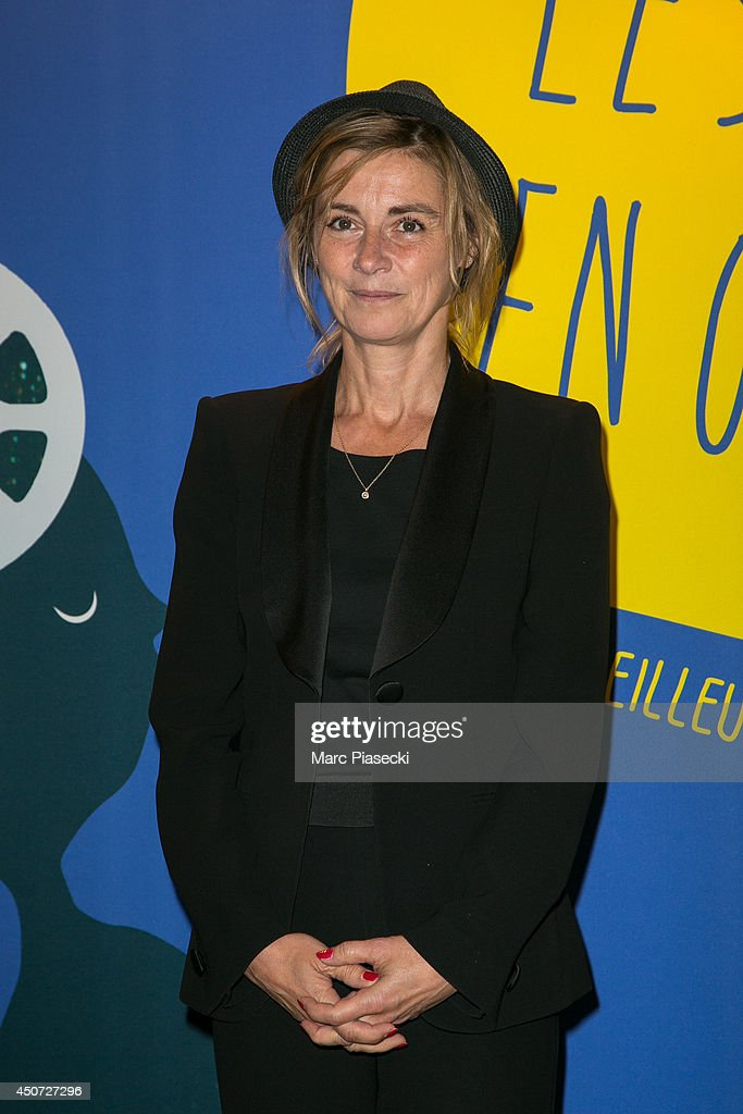 Actress Anne Consigny attends the 'Panorama des Nuits en or' gala dinner UNESCO on June 16, 2014 in Paris, France.