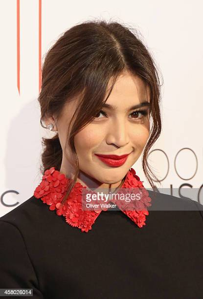 Actress Anne Curtis arrives at the premiere of 'Blood Ransom' at ArcLight Hollywood on October 28 2014 in Hollywood California