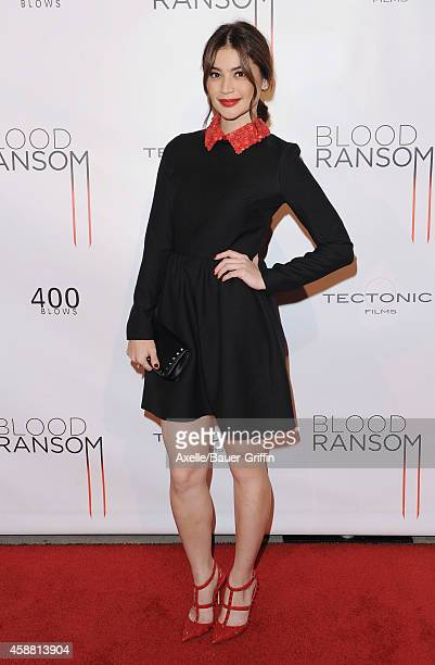 Actress Anne Curtis attends the Los Angeles Premiere of 'Blood Ransom' at ArcLight Hollywood on October 28 2014 in Hollywood California