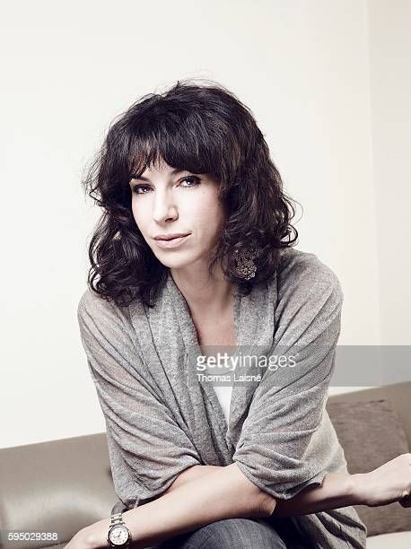 Actress Anne Depetrini is photographed for Self Assignment on February 4 2011 in Paris France