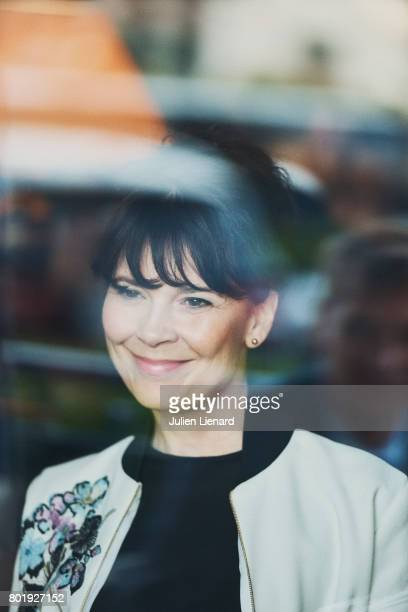 Actress Anne Dorval is photographed for Self Assignment on June 15 2017 in Cabourg France