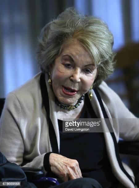 Actress Anne Douglas attends the 25th anniversary celebration of the Anne Douglas Center at Los Angeles Mission on May 4 2017 in Los Angeles...