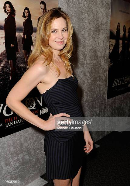 Actress Anne Dudek arrives at HBO's Big Love Season 5 Premiere held at the Directors Guild Of America on January 12 2011 in Los Angeles California