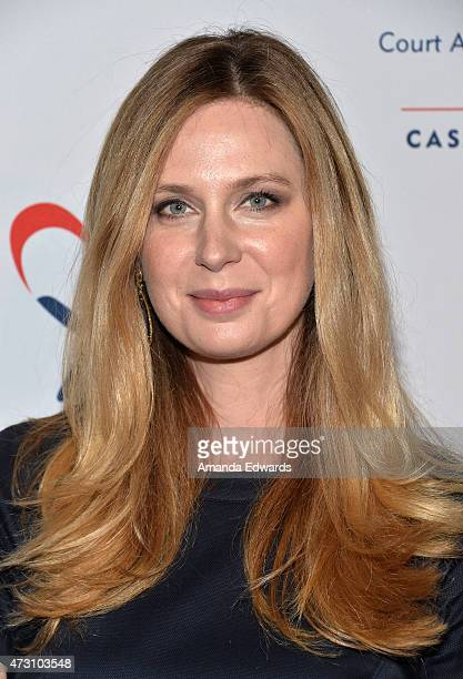 Actress Anne Dudek arrives at the CASA of Los Angeles' 3rd Annual Evening to Foster Dreams Gala at The Beverly Hilton Hotel on May 12 2015 in Beverly...
