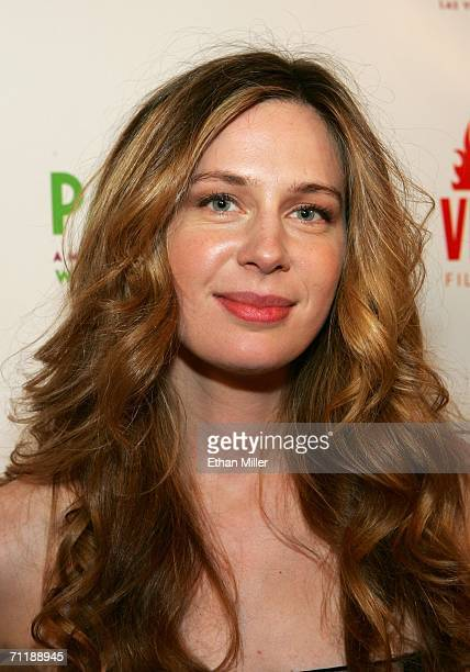 Actress Anne Dudek arrives at the Park screening at the Brenden Theatres inside the Palms Casino Resort during the CineVegas film festival on June 12...