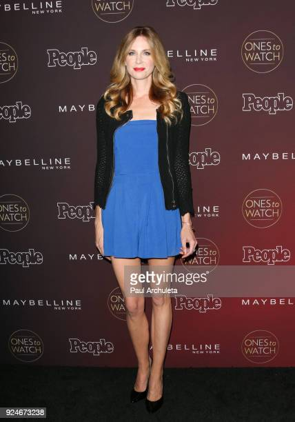 Actress Anne Dudek attends People's 'Ones To Watch' party at NeueHouse Hollywood on October 4 2017 in Los Angeles California