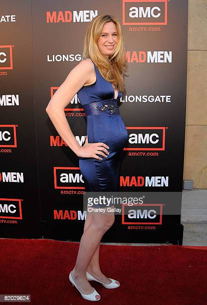Actress Anne Dudek attends the premiere of 'Mad Men Season 2' at the Egyptian theater on July 21 2008 in Los Angeles California