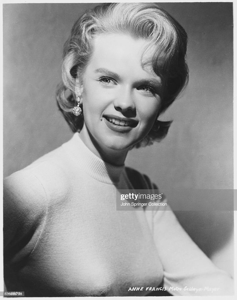 Actress Anne Francis N...