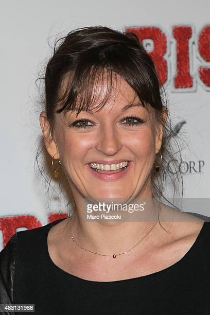Actress Anne Girouard attends the 'Bis' Premiere at Cinema Gaumont Capucine on February 10, 2015 in Paris, France.