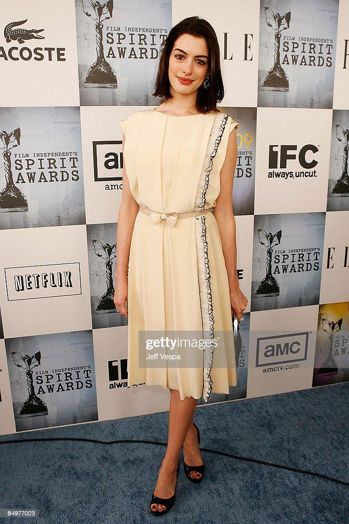 2009 Film Independent's Spirit Awards - Red Carpet : News Photo