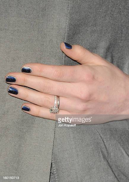 Actress Anne Hathaway Arrives At The 24th Annual Producers Guild Awards Beverly Hilton Hotel