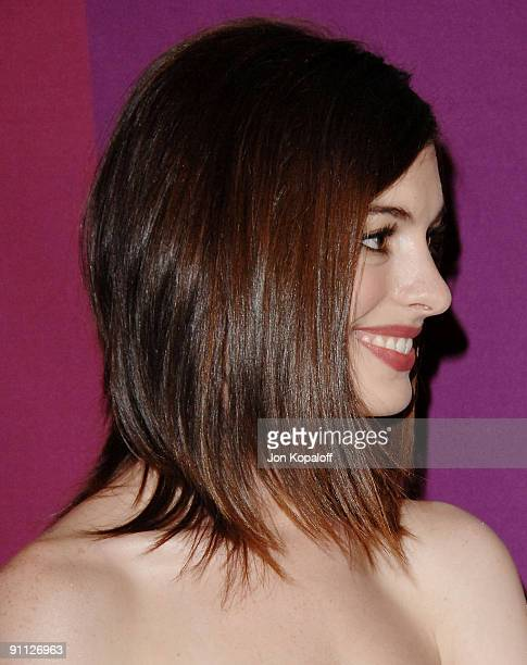Actress Anne Hathaway arrives at Variety's 1st Annual Power Of Women Luncheon at The Beverly Wilshire Hotel on September 24 2009 in Beverly Hills...