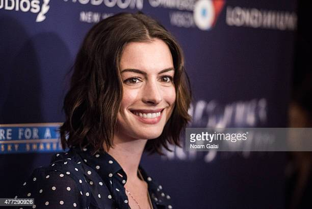 Actress Anne Hathaway attends 'A Midsummer Night's Dream New York premiere at DGA Theater on June 15 2015 in New York City