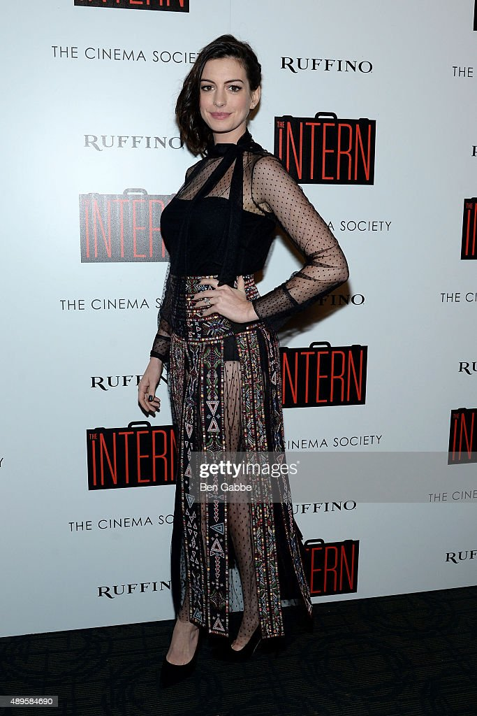"""The Cinema Society And Ruffino Host A Screening Of Warner Bros. Pictures' """"The Intern"""""""