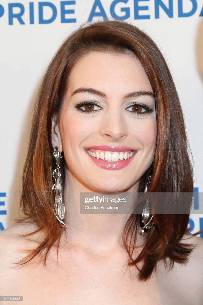 Actress Anne Hathaway attends the 18th Annual Empire State Pride Agenda Fall Dinner at the Sheraton New York Hotel & Towers on October 22, 2009 in New York City.
