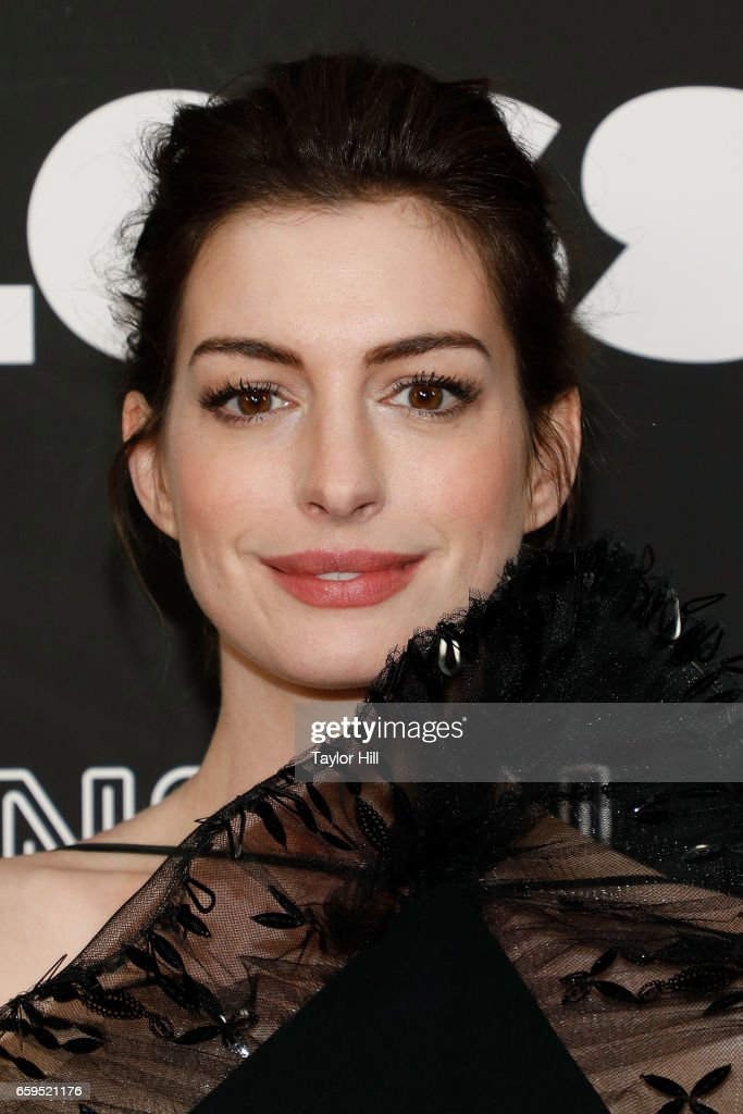 Actress Anne Hathaway attends the premiere of 'Colossal' at AMC Lincoln Square Theater on March 28, 2017 in New York City.