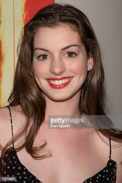 Actress Anne Hathaway attends 'The Score' film premiere at Sony lincoln Theater in New York City Photo Evan Agostini/ImageDirect
