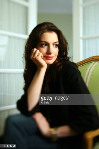 Actress Anne Hathaway is photographed for Los Angeles Times on July 11 2007 in Los Angeles California PUBLISHED IMAGE CREDIT MUST READ Al Seib/Los...