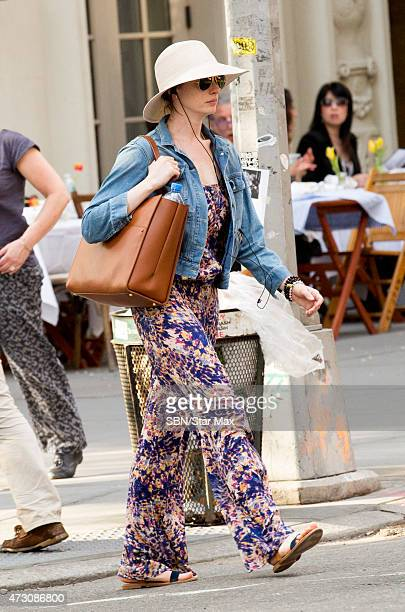 Actress Anne Hathaway is seen on May 12 2015 in New York City