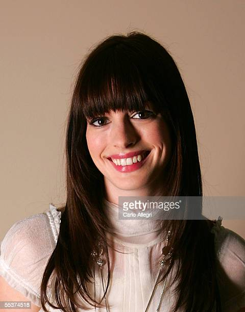 """Actress Anne Hathaway poses for a portrait while promoting his film """"Brokeback Mountain"""" at the Toronto International Film Festival September 10,..."""