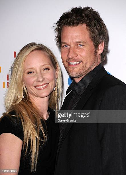 CITY CA MAY Actress Anne Heche and actor James Tupper arrive at the 17th Annual Race to Erase MS event cochaired by Nancy Davis and Tommy Hilfiger at...