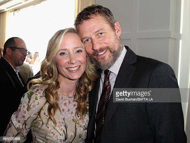 Actress Anne Heche and James Tupper attends the 2014 BAFTA Los Angeles TV Tea presented by BBC America and Jaguar at SLS Hotel on August 23 2014 in...