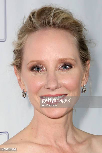 Actress Anne Heche arrives at Hallmark Hall of Fame's One Christmas Eve Premiere Event at Fig Olive Melrose Place on November 18 2014 in West...