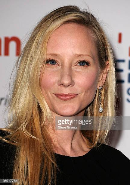 Actress Anne Heche arrives at the 17th Annual Race to Erase MS event cochaired by Nancy Davis and Tommy Hilfiger at the Hyatt Regency Century Plaza...