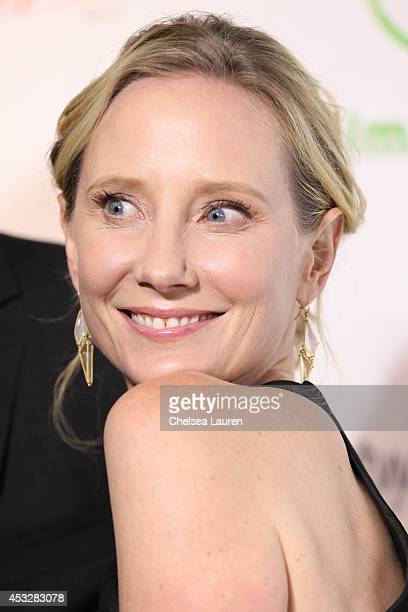 Actress Anne Heche arrives at THE IMAGINE BALL at House of Blues Sunset Strip on August 6 2014 in West Hollywood California