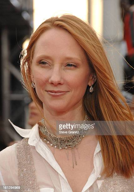 Actress Anne Heche arrives at the Los Angeles Premiere of 'This Is It' held at Nokia Theatre LA Live on October 27 2009 in Los Angeles California