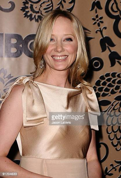 Actress Anne Heche attends HBO's post Emmy Awards reception at Pacific Design Center on September 20 2009 in West Hollywood California