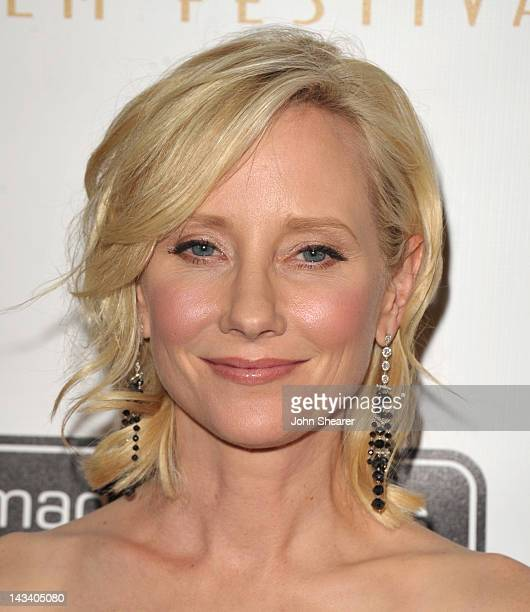 Actress Anne Heche attends the 12th Annual International Beverly Hills Film Festival opening night at AMPAS Samuel Goldwyn Theater on April 25 2012...