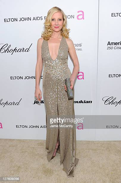 Actress Anne Heche attends the 19th Annual Elton John AIDS Foundation Academy Awards Viewing Party at the Pacific Design Center on February 27 2011...