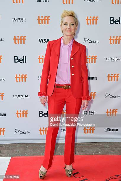 Actress Anne Heche attends the 'Catfight' premiere during the 2016 Toronto International Film Festival at Ryerson Theatre on September 9 2016 in...