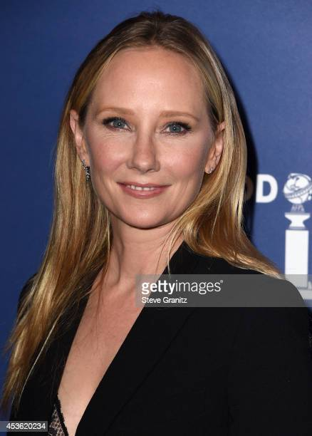 Actress Anne Heche attends The Hollywood Foreign Press Association Installation Dinner at The Beverly Hilton Hotel on August 14 2014 in Beverly Hills...
